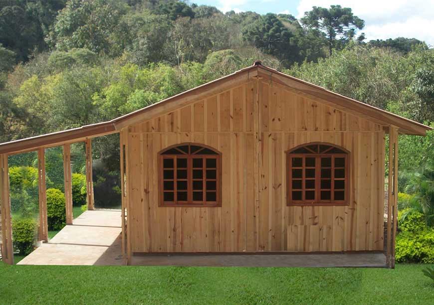 casas pré-fabricadas de madeira seminario