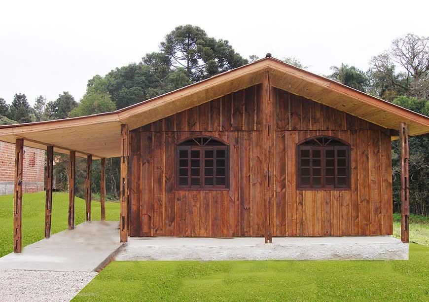 casas pré-fabricadas modelo tarumã
